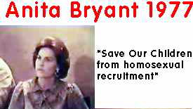 from Dawson anita bryant anti gay t-shirts
