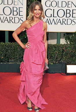 Actress Cameron Diaz arrives at the 66th Annual Golden Globe Awa