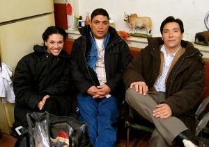 Carmen Serano, Michael DeLorenzo, Benito Martinez