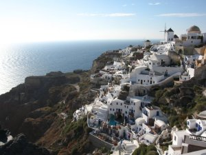Oia coastline on Santorini, photo © Pop Culture Nerd