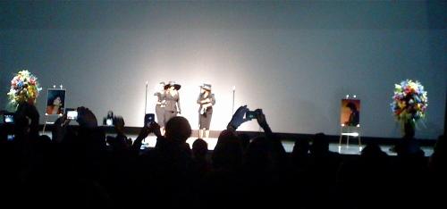 LaToya, Janet and Rebbie Jackson