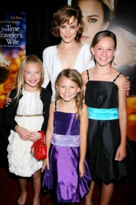 Clockwise from L.: Brooklynn Proulx (who plays Young Clare), McAdams (in back), Hailey and Tatum at the movie's NYC premiere