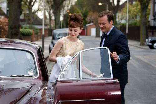 jenny & david getting in car
